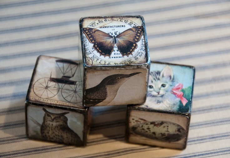 vintage story blocks - fits perfectly for the nature theme :)