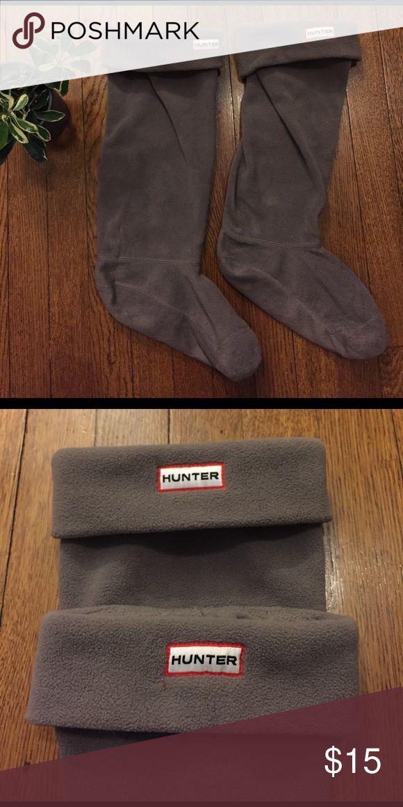 Hunter Boot Liners Hunter Boot Socks/Liners | an accessory to Hunter rain boots | soft polyfleece | fits women's shoe size 8-10 Hunter Accessories Hosiery & Socks