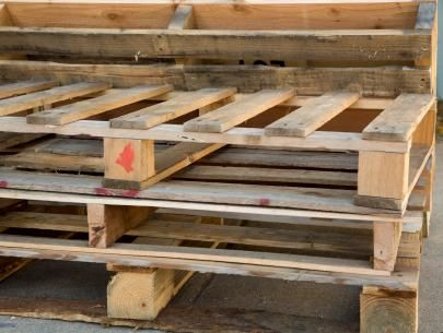 DIY Network has instructions on how to build an old-fashion lemonade stand using discarded shipping pallets.