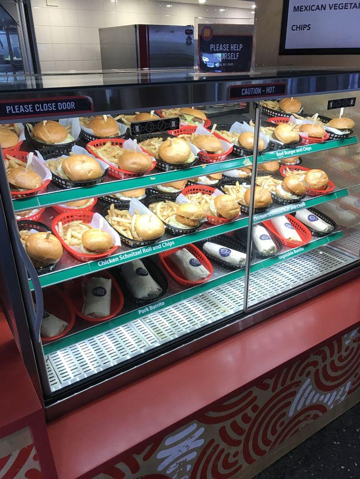 vitrina fast food