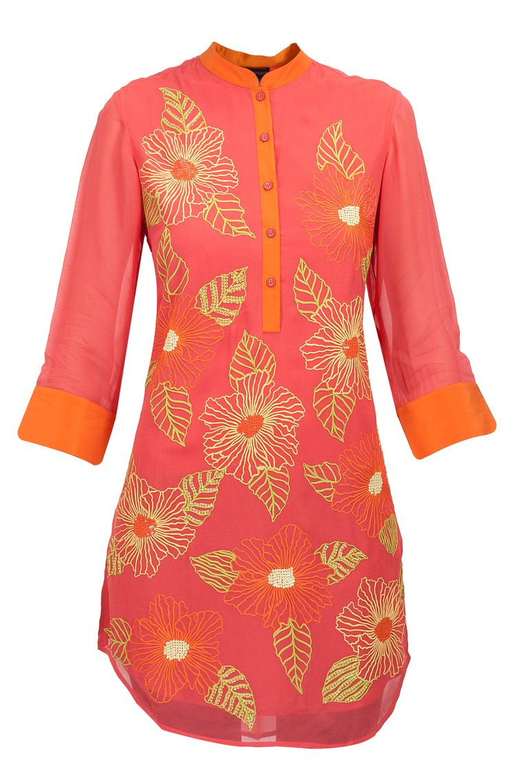 Spring tunic available only at Pernia's Pop-Up Shop.