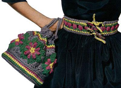 Motif Bag and Belt Pattern