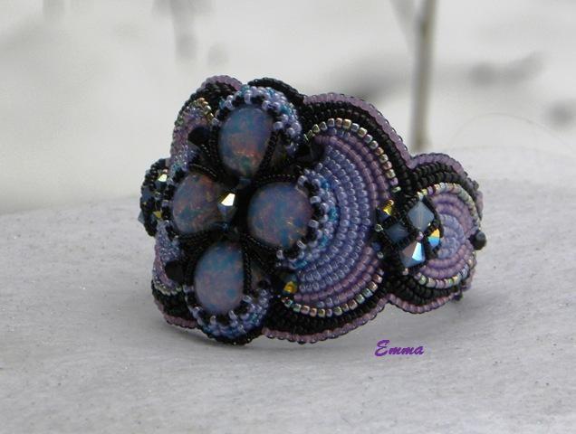 """The  Opal""  handmade by Em. :)"