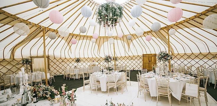 Yorkshire Yurts - Marquee and Tent Hire - North Yorkshire : The Wedding Affair