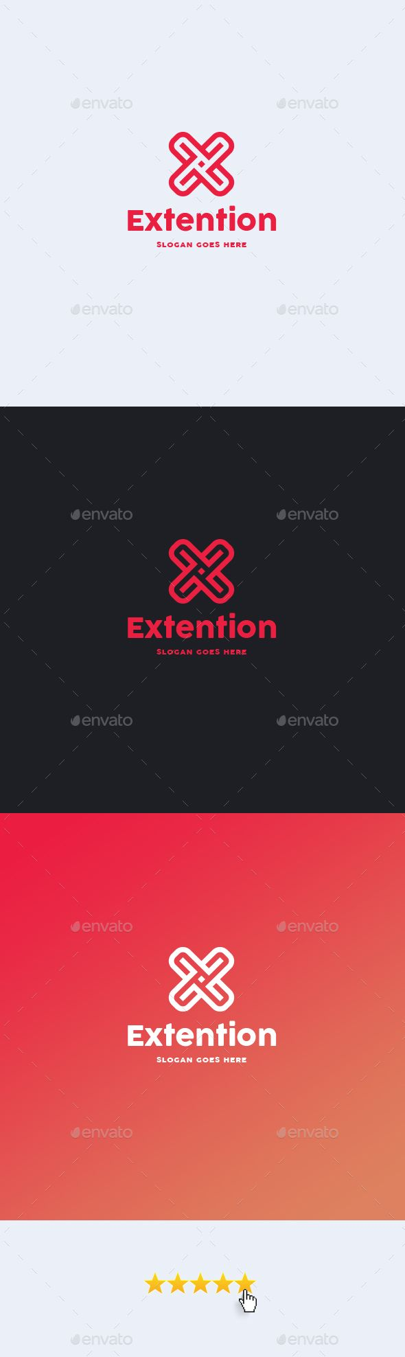 Logosmartz custom logo maker 5 0 review and download - Extention Letter X Logo Template