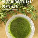 Pesto di Porcellana/Portulaca