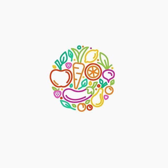 healthy food logo idea design made by nindzecom logoplace graphicdesign - Idea Design