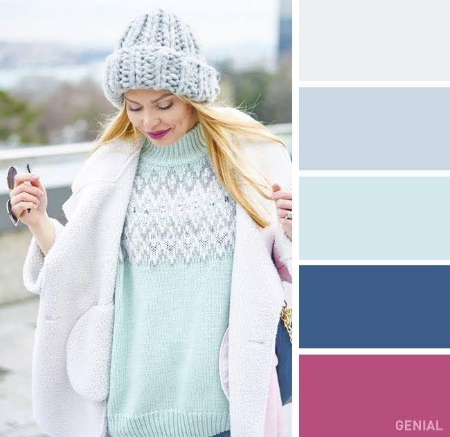 Ahora sabrás cómo combinar bufandas yabrigos