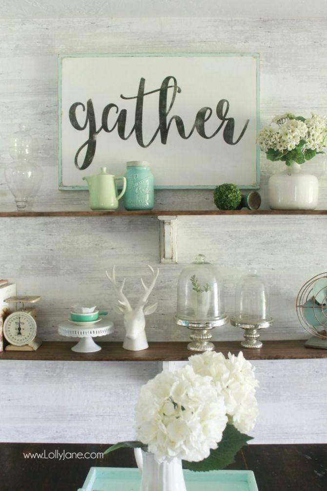 DIY farmhouse shelves 266 best Wood Signs