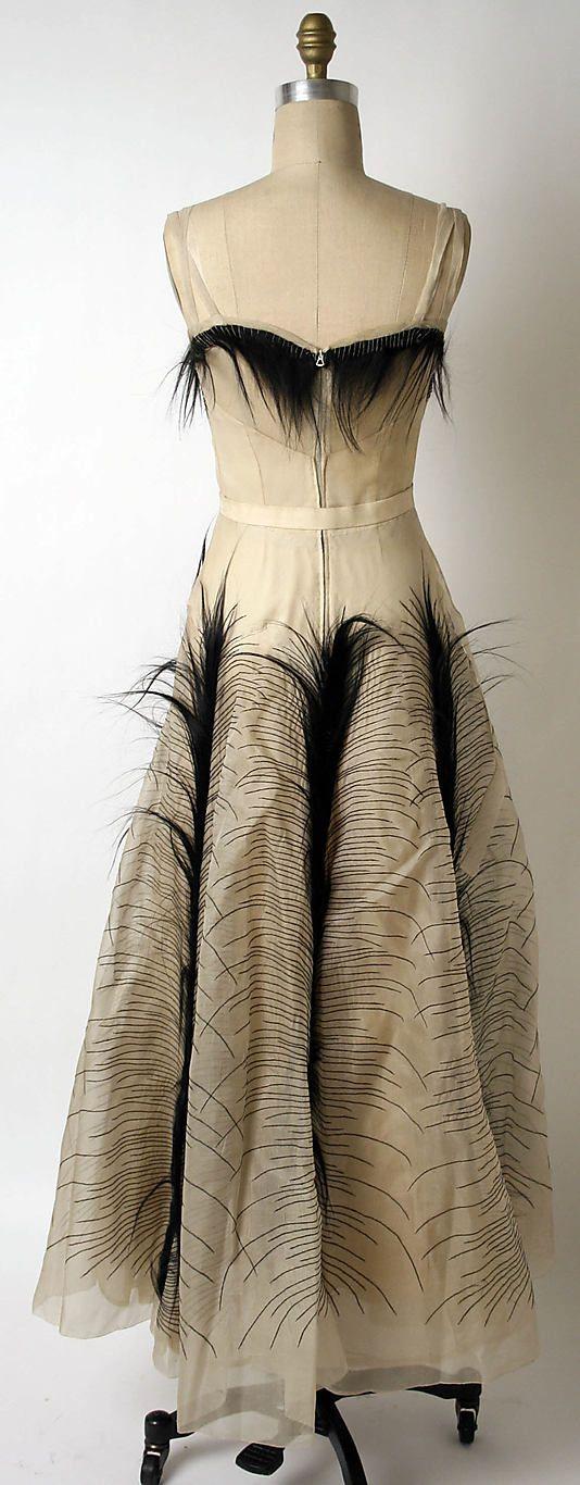 Evening dress | Mme. Jeanne Paquin (French, 1869–1936) Hattie Carnegie, Inc. ca. 1938