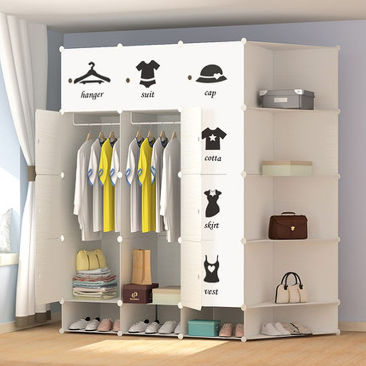17 Best Ideas About Ikea Single Wardrobe On Pinterest