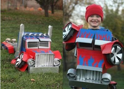 Yes i have all girls but emma really wants to be a transformer this year. They should have invented a pink autobot for the movies. That would have been sweet !
