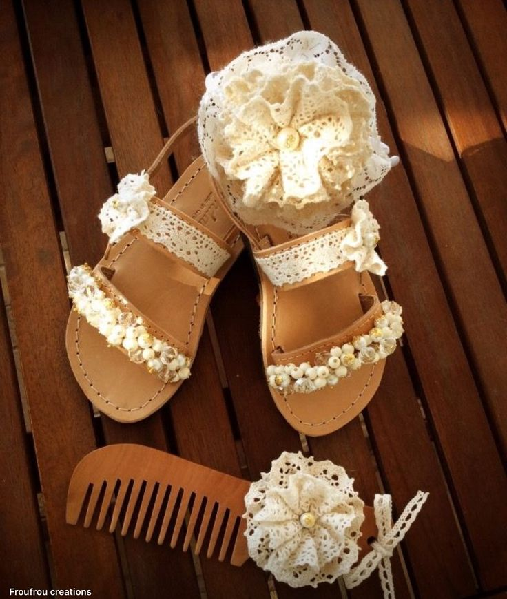 Luxury Handmade Greek Leather sandals Kids