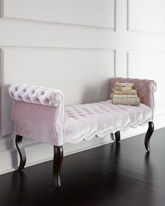 Blush+Rebecca+Bench+by+Haute+House+at+Neiman+Marcus.
