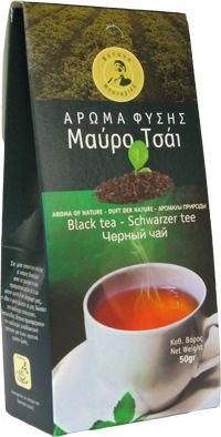 Black tea  Black tea is the widespread kind of tea that is consumed in the all Western countries.  Savoury and aromatic beverage, with imposing smell.