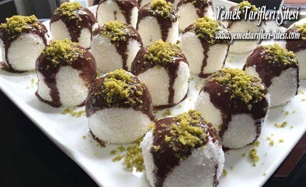 Hindistan Cevizli Çikolatalı Top Tarifi   Yemek Tarifleri Sitesi - Oktay Usta - Harika ve Nefis Yemek Tarifleri
