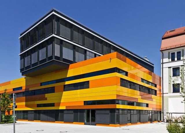 Medienfabrik, München KSP Jürgen Engel Architekten, 2009. photo by Anton Schedlbauer.