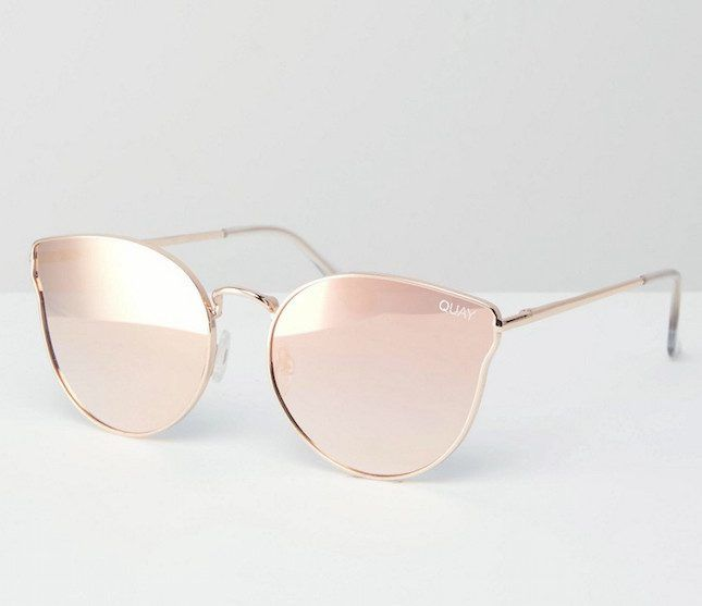 Need a pair of rose gold sunglasses.