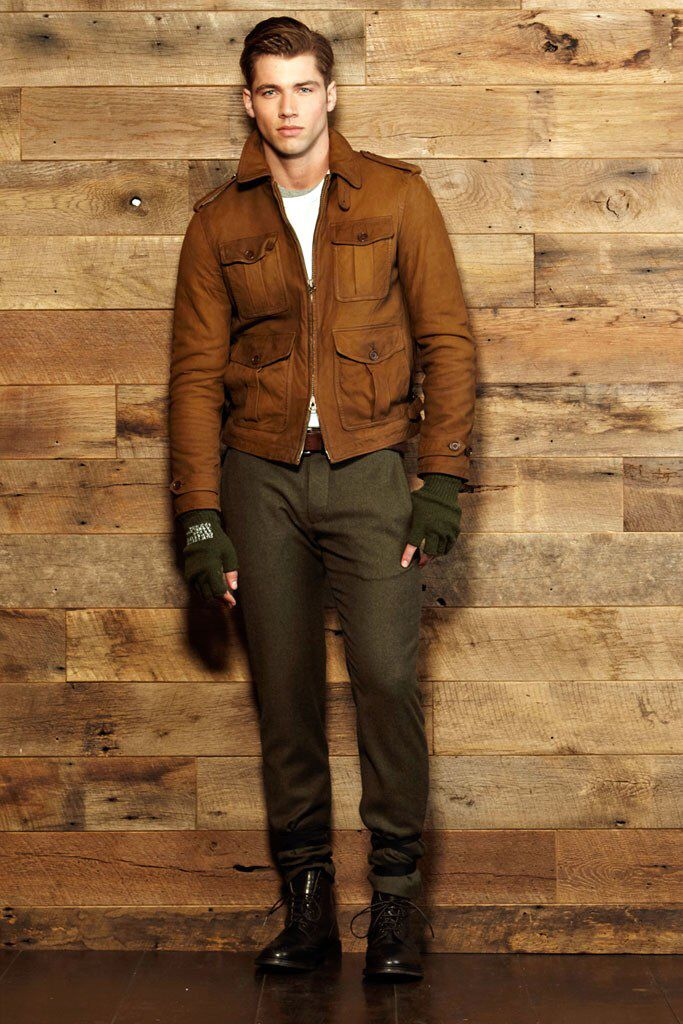 Todd Snyder Fall 2012 Menswear Fashion Show Collection