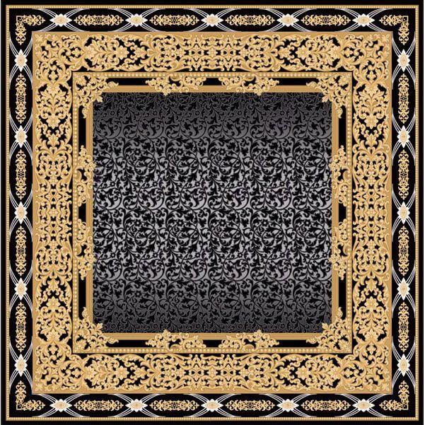 Ковер золотой цвет Palace of Miramar #ковер #carpet