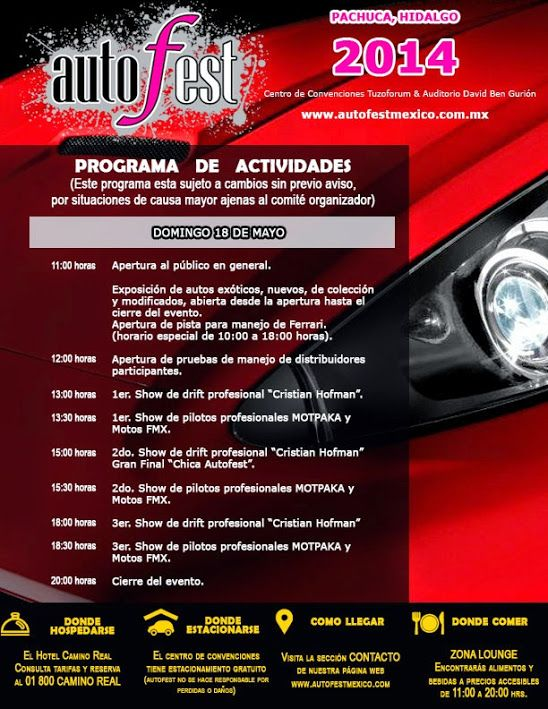 Autofest México: Google+