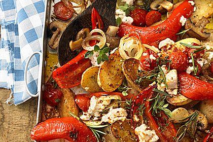 Mediterranes Ofengemüse, ein schmackhaftes Rezept aus der Kategorie Pilze. Bewertungen: 418. Durchschnitt: Ø 4,6.