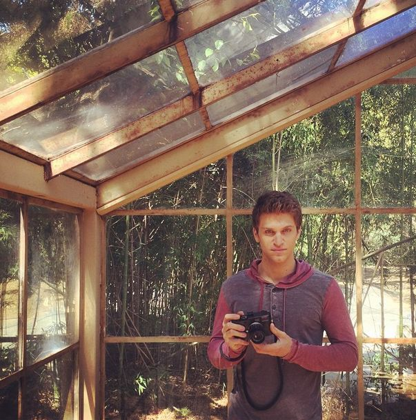 Keegan Doing Work With His Camera. | Pretty Little Liars