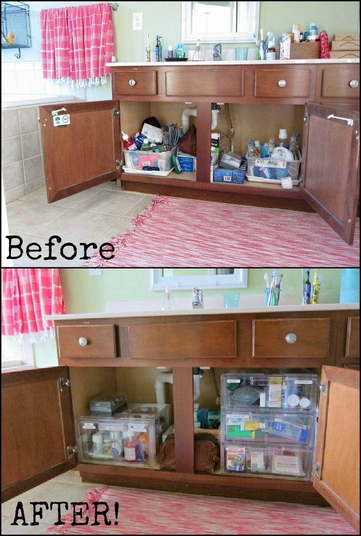 Under sink organizer bathroom - Find This Pin And More On Bathroom Remodel Under Bathroom Sink Organization