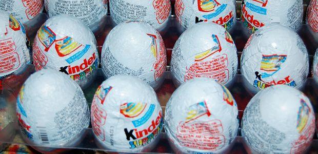 Kinder Egg smugglers don't get the yolk!!