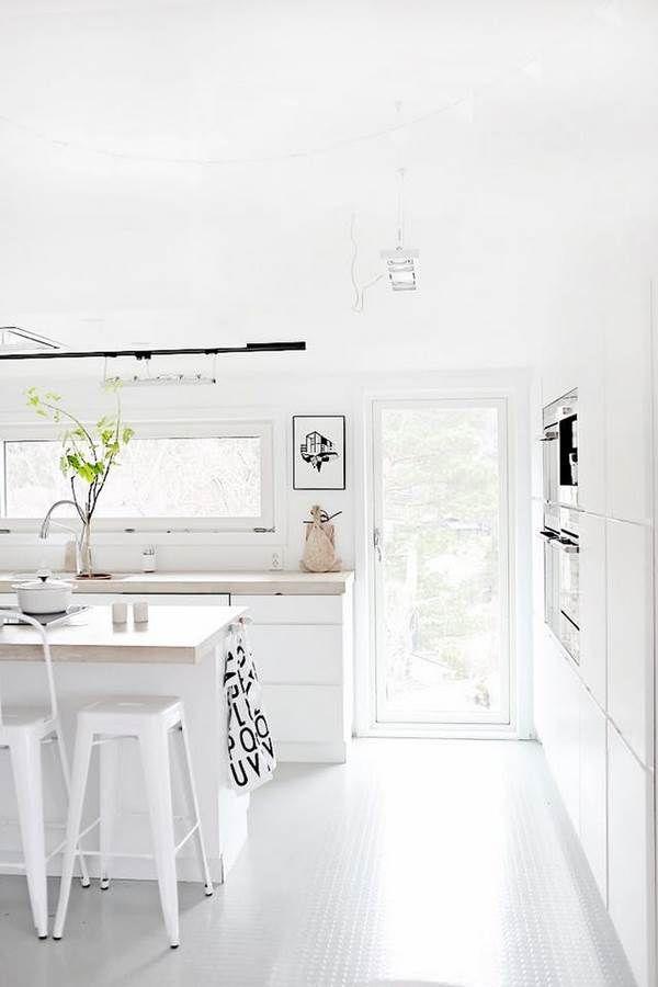 Top 15 Ideen für Küchenböden - Vor- und Nachteile der ...