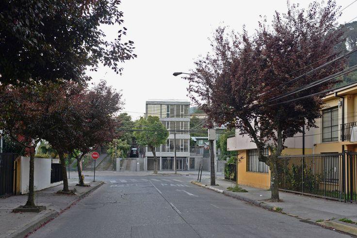 cristian berrios architect STV building concepcion chile designboom