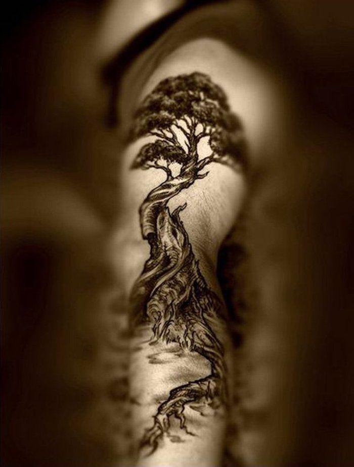 die besten 25 lebensbaum tattoo ideen auf pinterest baum t towierungen tattoo baumwurzel. Black Bedroom Furniture Sets. Home Design Ideas