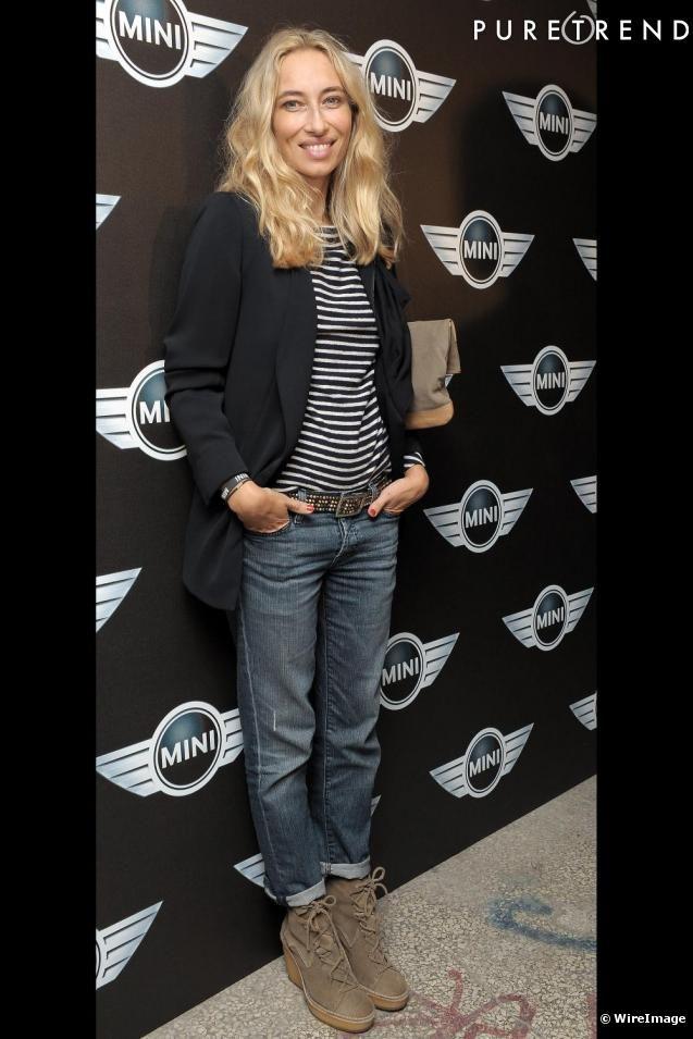 Alexandra Golovanoff à la soirée des 50 ans 'anniversaire de la Mini Austin