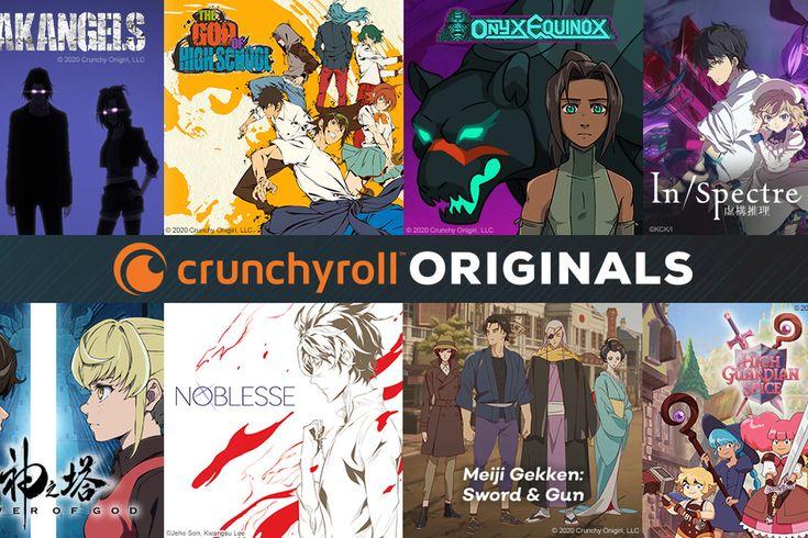 Crunchyroll announces first slate of original animated