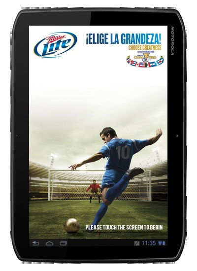 Miller Lite turned to MoZeus for its Gold Cup program, a Spanish program built for the CONCACAF Gold Cup.