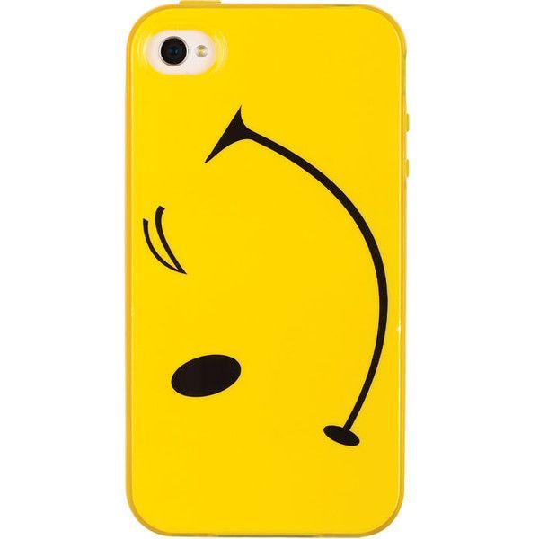 Emoji iPhone4 Case found on Polyvore