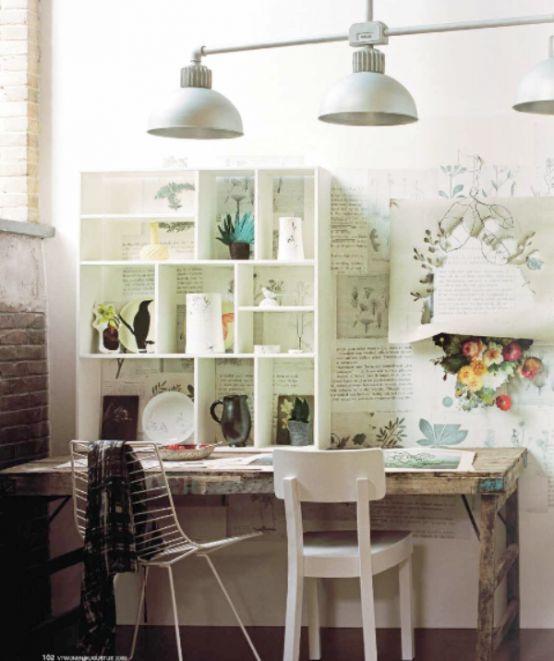 Retro, Vintage & Charming Home Offices architectureartdesigns.com