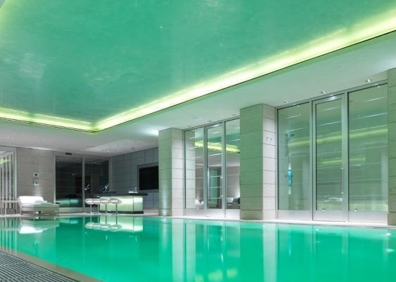 Indoor swimming pool 7 bedroom house on hamilton terrace Bedroom swimming pool design