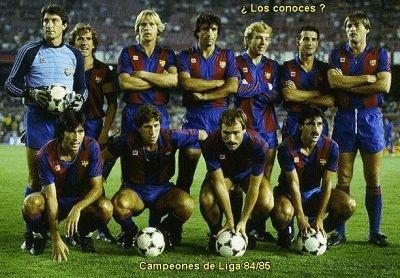 Barça 1984/85