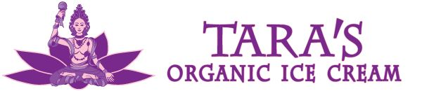 Tara's Organic Ice Cream logo    Haha all you Taras, is it really all that odd we would have an ice cream in our name???