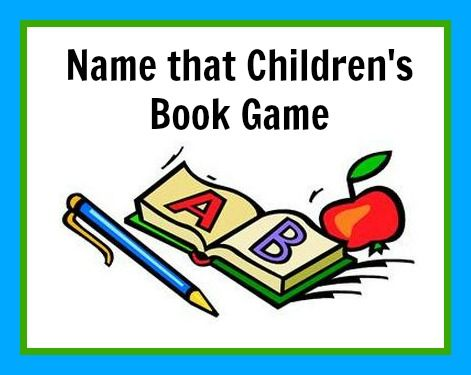 Teaching with TLC: Play the children's book game!