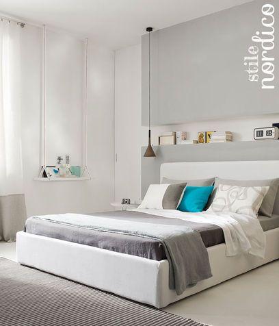 le 25 migliori idee su camera da letto grigio scuro su pinterest ... - Camera Da Letto Bianca E Tortora
