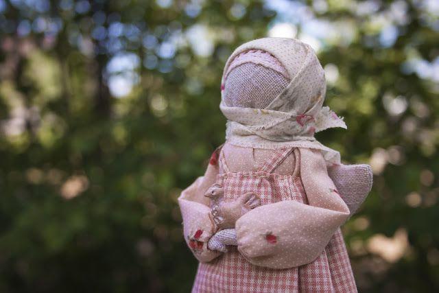 """Куколка Ангел с птичкой...автор Наталья Куликовских """"Душевности"""""""