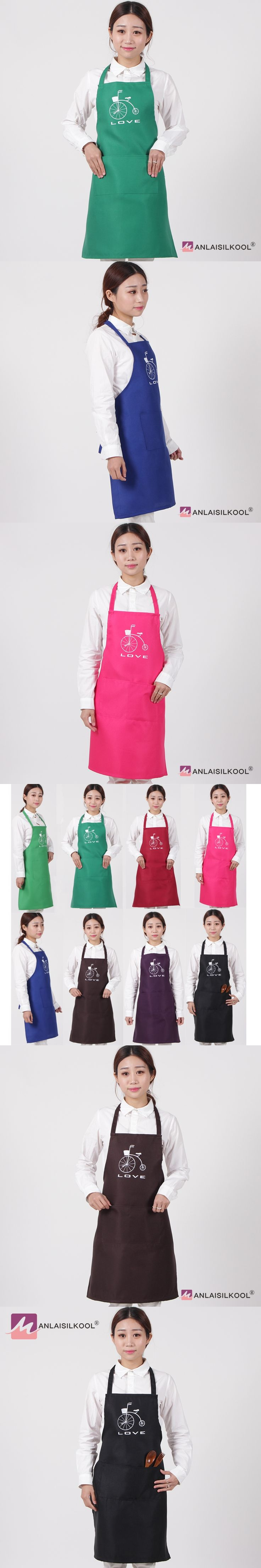 High Quality Black Fashion Cute Cooking Baking Bib Kitchen Apron Coffee Restaurant Aprons For Women Men Home Sleeveless Apron