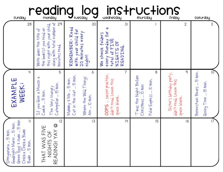 Weekly Reading Calendar : Reading response journal a collection of ideas to try
