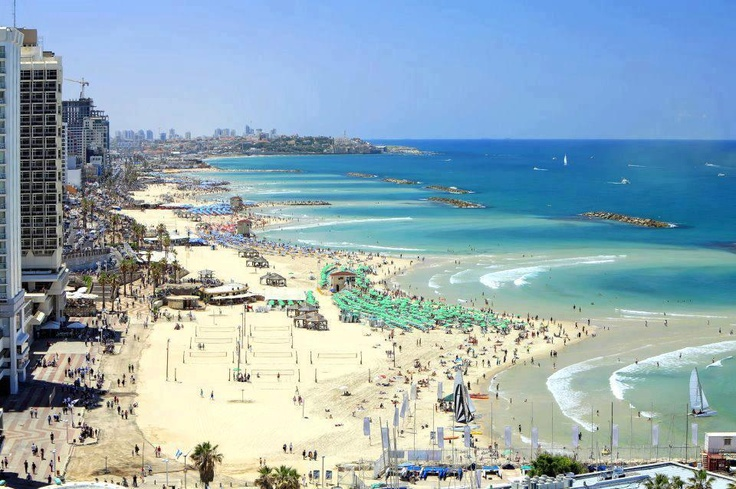 July 12 ~     This is Tel Aviv right now!