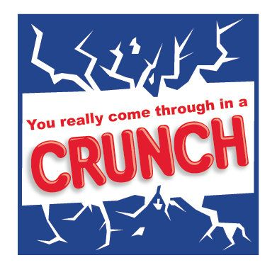 Crunch Bar themed tag, designed to be given with a crunch bar (regular or mini sized). Great for school or work appreciation! Feel free to contact me for custom orders!  FAQ: **Each file comes with 12 printable tags, but can be printed as many times as youd like to accommodate your need once purchased. **Finished size of these tags is 2x2 **I would recommend printing on a thicker white paper like a card stock, colored paper may alter the color of the ink when printed. **currently I only…