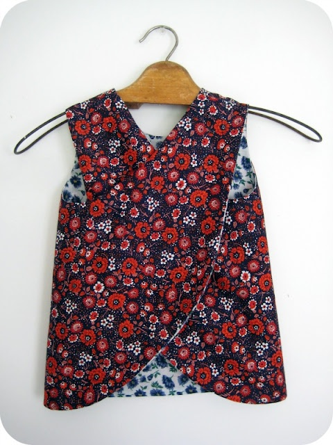 {tutorial} reversible dress with cross over back