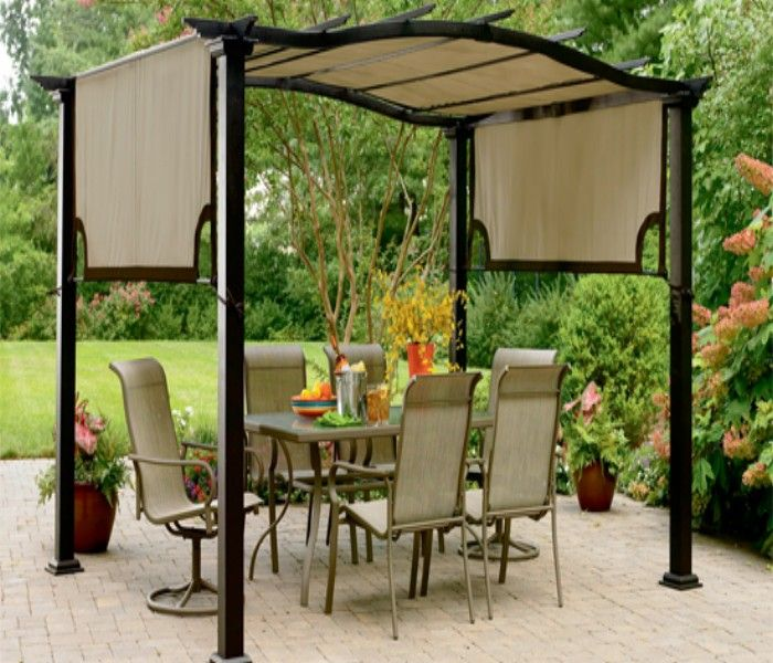 Heart Touching Ideas Of Gazebo Roof Or Cover: Know About Fantastic Pergola Covers Of Your House