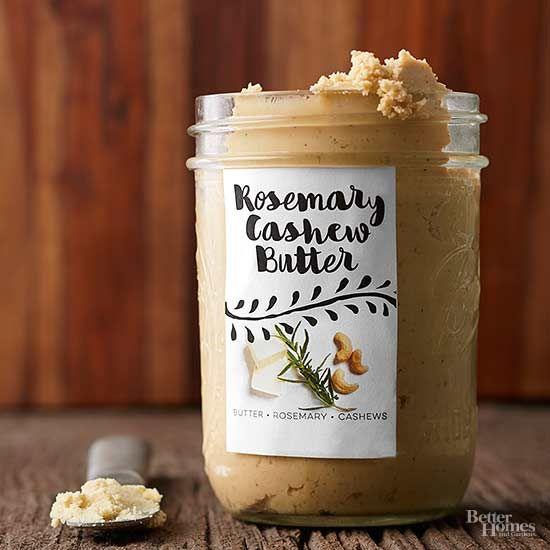 Rosemary Cashew Butter
